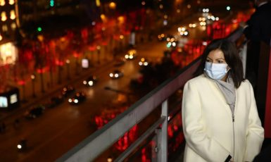 Starostka Paříže Anne Hidalgová (FB Anne Hidalgo)