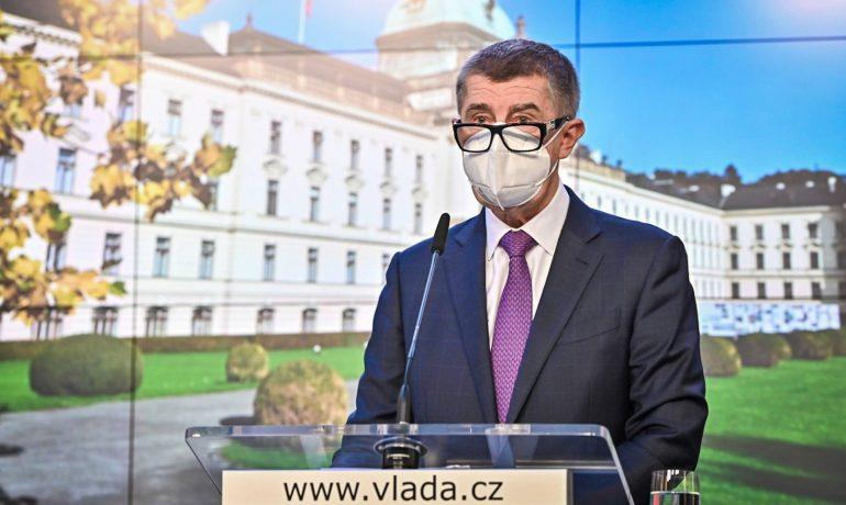 Premiér Andrej Babiš (ANO) (FB Úřad vlády)