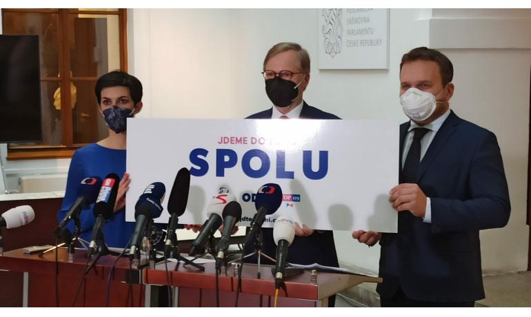 Koalice SPOLU: ODS, TOP 09 a KDU-ČSL