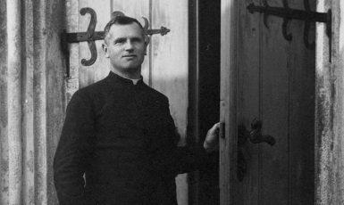 Katolický farář Josef Toufar v Číhošti na Vysočině (Archiv Miloše Doležala)