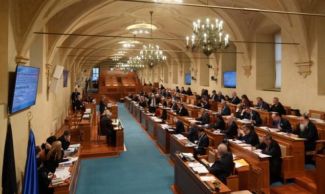 Schůze Senátu Parlamentu ČR v Praze  (ČTK)