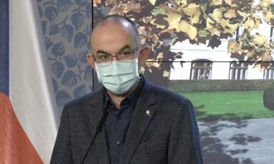 Ministr zdravotnictví Jan Blatný (za ANO)  (Úřad vlády ČR)