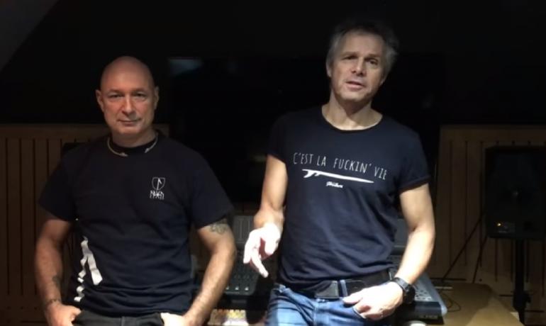 Daniel Landa a Janek Ledecký a jejich Blanický manifest (facebook D. Landy)