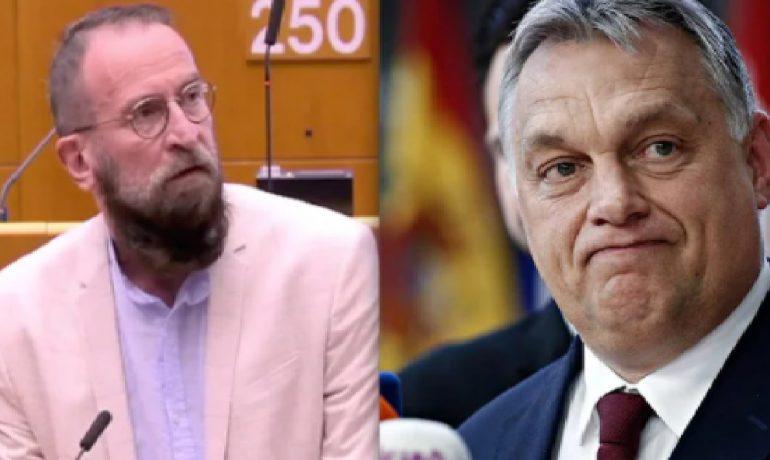 Europoslanec József Szájer, premiér Viktor Orbán. (youtube)