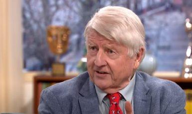 Stanley Johnson, otec britského premiéra Borise Johnsona. (youtube)