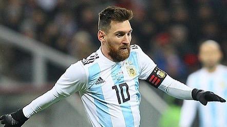 Lionel Messi v dresu argentinské reprezentace  (soccer.ru/Дмитрий Садовников)