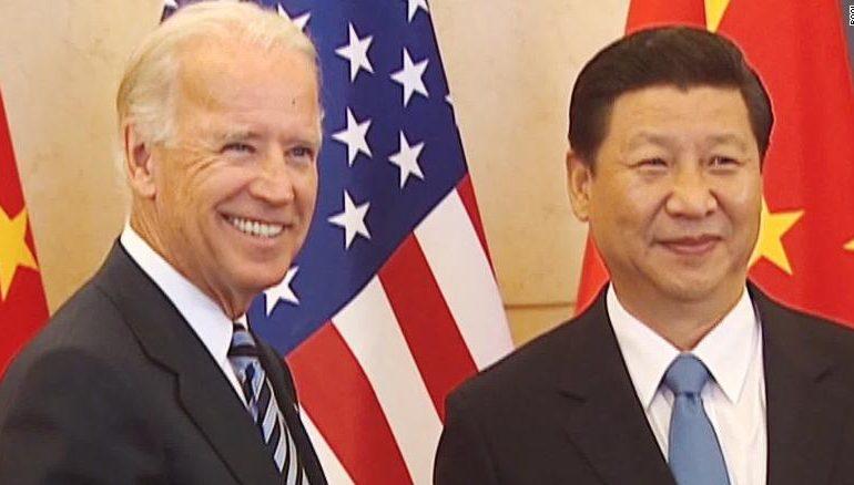 """Nový americký prezident Joe Biden má zkušenosti s """"lidovou"""" Čínou a rozhodně jí nebude ustupovat.  (screenshot CNN)"""
