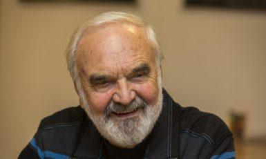 Herec, textař a principál Divadla Járy Cimrmana Zdeněk Svěrák (ČTK – Milan Petrovič)
