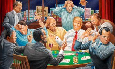 """Jak se Republikánská strana vyrovná s """"republikánem"""" Trumpem a trumpismem? (www.artandresponse.com)"""