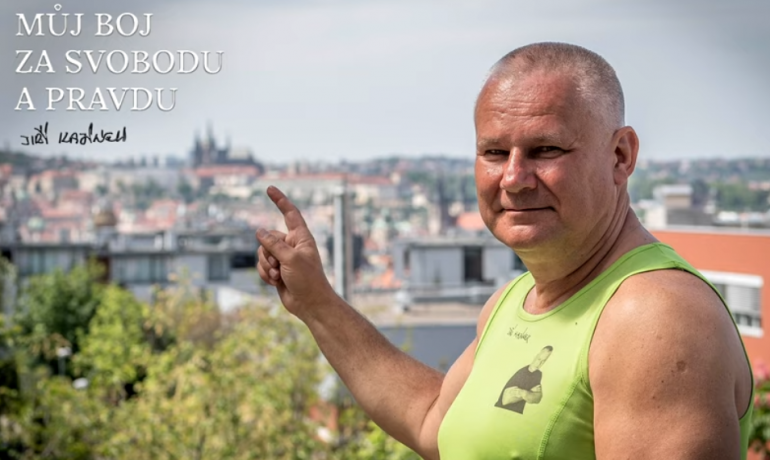 print screen YouTube kanál Jiřího Kajínka