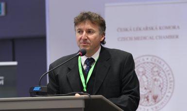 Prezident České lékařské komory Milan Kubek (FB Česká lékařská komora)