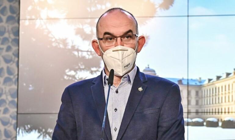 Ministr zdravotnictví Jan Blatný (za ANO) (ČTK)