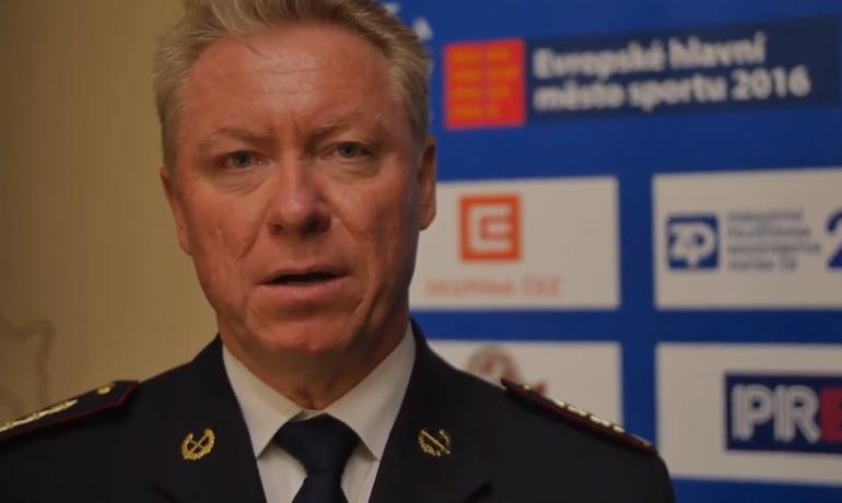 Končící krajský ředitel policie Vladislav Husák (Youtube)