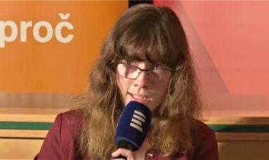 Hana Lipovská. (youtube/ČRo)