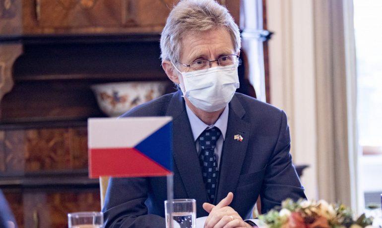 Předseda senátu Miloš Vystrčil (ODS) (Miloš Vystrčil)