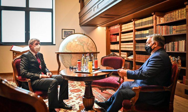 Andrej Babiš a Viktor Orbán v Maďarsku (Vláda ČR)