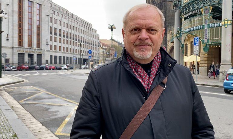 Předseda výboru Podnikatelských odborů Radomil Bábek (Podnikatelské odbory)