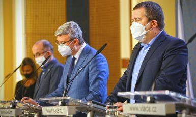 Tisková konference vlády (Úřad vlády ČR)