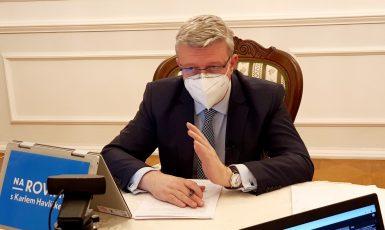 Ministr průmyslu a obchodu a dopravy Karel Havlíček (ANO) (FB)