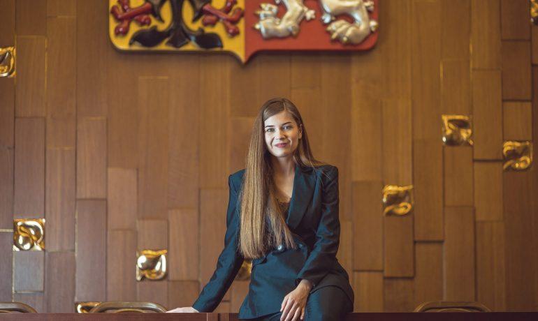 Jana Soukupová, zakladatelka projektu Youth, Speak Up! (Milan Havlík)