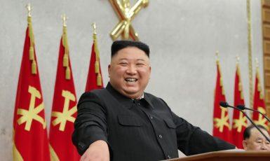 Severokorejský vůdce Jim Čong-un (archiv)