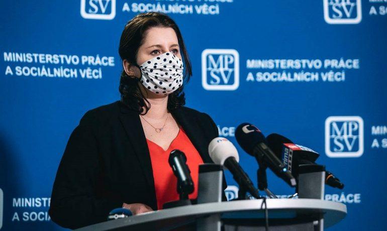 Ministryně práce a sociálních věcí Jana Maláčová (ČSSD) (Facebook/Jana Maláčová)