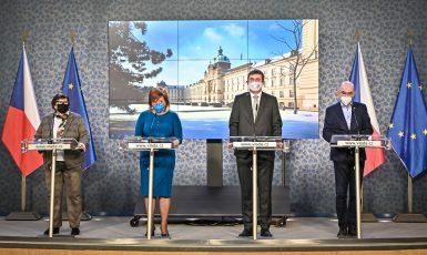 Tisková konference po zasedání vlády (Vláda ČR)