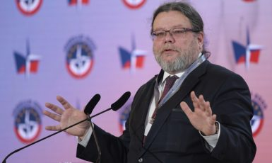 Europoslanec Alexandr Vondra (ODS). (ČTK/Deml Ondřej)