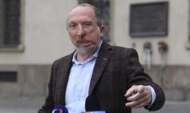Předseda Trikolóry Václav Klaus mladší  (ČTK – Ondřej Deml)