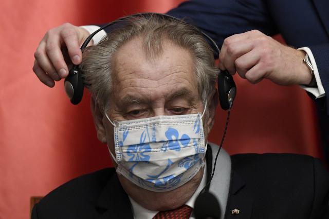 Prezident Miloš Zeman (ČTK – Ondřej Deml)