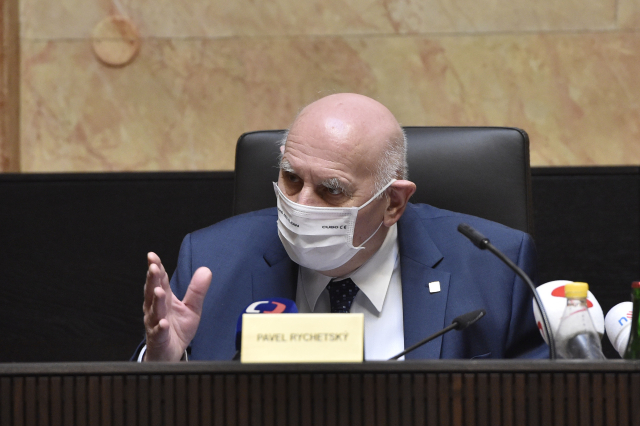Předseda Ústavního soudu Pavel Rychetský   (ČTK/Šálek Václav)