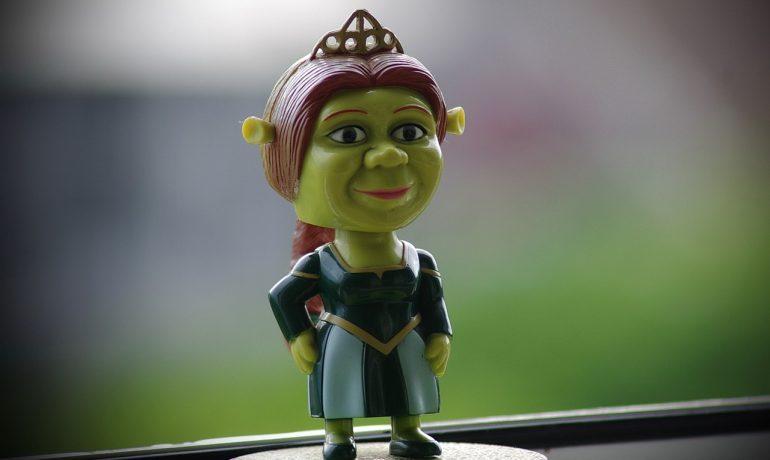 Princezna Fiona, Shrekova láska. (pixabay.com)