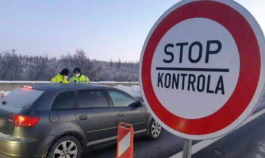 Kontrola u Chebu  (Policie ČR)