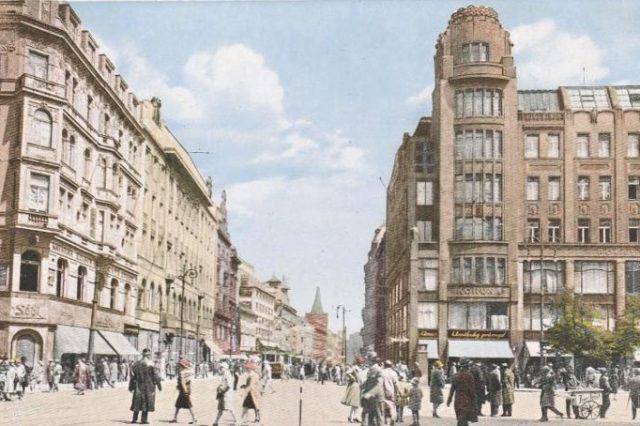 Pražské Příkopy - kdysi centrum německého kulturního a intelektuálního života (FB)