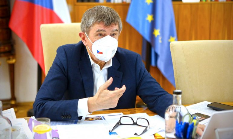 Premiér Andrej Babiš (ANO) (twitter Andreje Babiše)