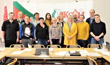 Europoslankyně Kateřina Konečná a mladí komunisté (Mladí komunisté KSČM)