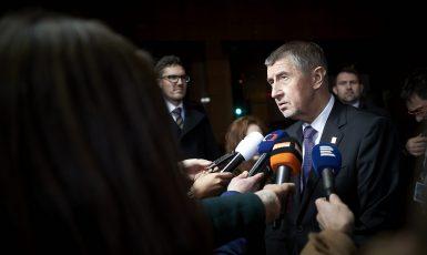 Premiér Andrej Babiš (ANO) (Evropská unie)