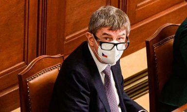 Premiér Andrej Babiš (ANO) na schůzi poslanecké sněmovny  (ČTK)