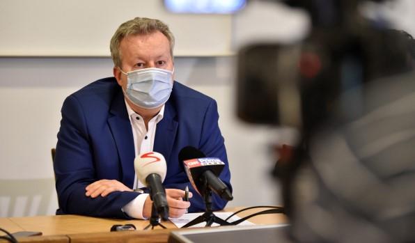 Ministr životního prostředí Richard Brabec (ANO) (ČTK)