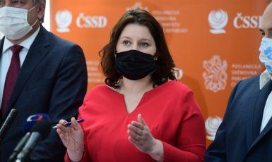 Ministryně práce a sociálních věcí Jana Maláčová (ČSSD) (ČTK)