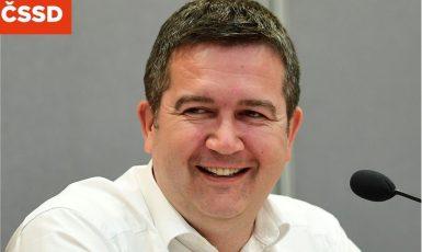 Ministr vnitra a šéf ČSSD Jan Hamáček (FB ČSSD)