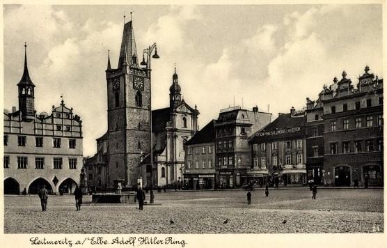 Litoměřice byly v letech 1938-1945 součástí tzv. Říšské župy Sudety (SL / Heimatkreis Leitmeritz)
