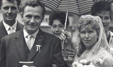 Svatební foto Alice a Ludvíka (Paměť národa)