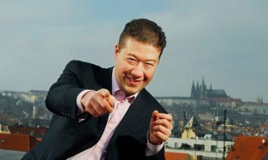 Kolaborant Kremlu Tomio Okamura (FB Tomio Okamura)