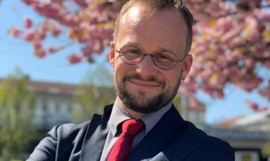 Zastupitel Prahy 2 za hnutí Dvojka sobě a bývalý člen Rady ÚSTR Michal Uhl (FB Michal Uhl)