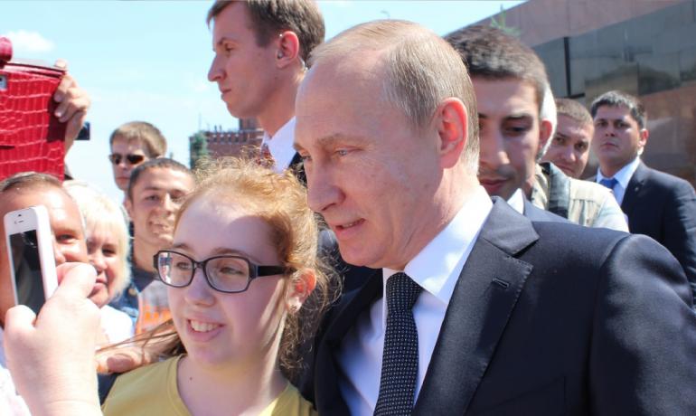 A ještě foto na památku s hodným Vladimirem Vladimirovičem  (Pixabay/Klimkin)