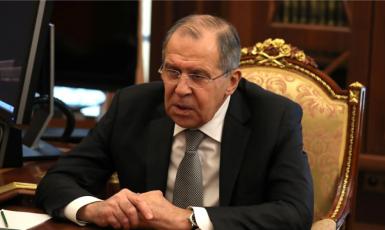 Ministr zahraničí Ruska Sergej Lavrov. (ČTK)