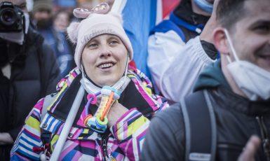 Demonstrace antirouškařů (Alena Spálenská)