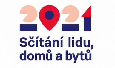 Sčítání lidu 2021 - oficiální logo (Český statistický úřad)