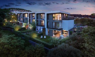 Exteriéry top'rezidence Pomezí (KKCG Real Estate Group)